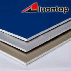 FR PVDF stainless steel composite panel