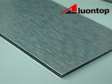 Brush aluminum composite panel